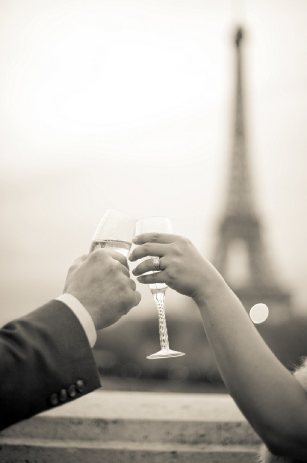 Eiffel Tower elopement