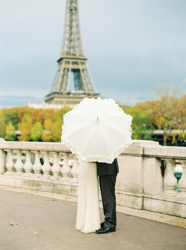 Fall Paris Elopement