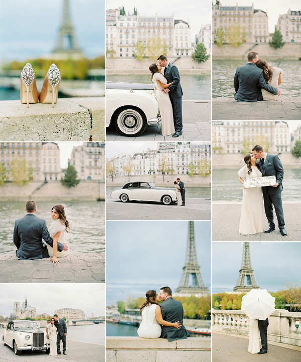 Jessica and Kevin's Fall Paris Elopement Snapshot