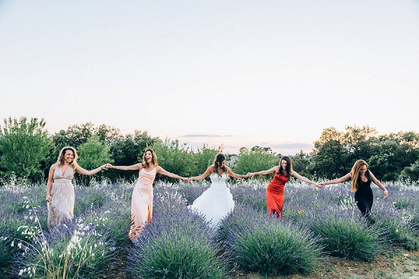 lavender bridesmaid picture