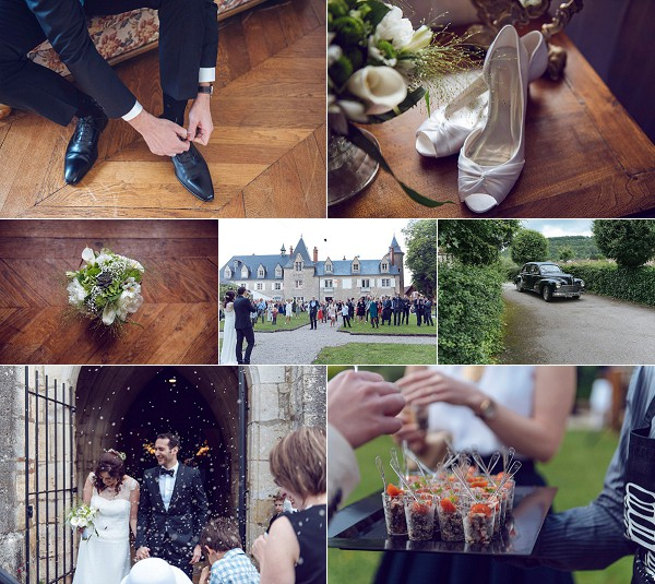 loire valley relaxed chateau wedding snapshot