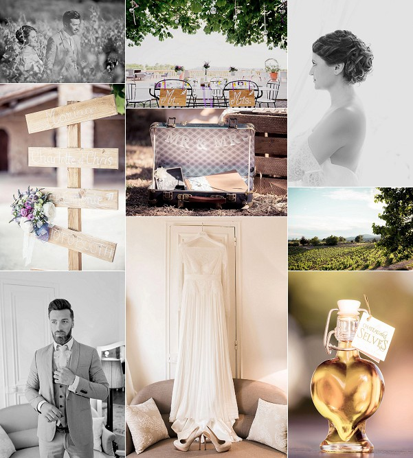 provence styled shoot at chateau des selves snapshot
