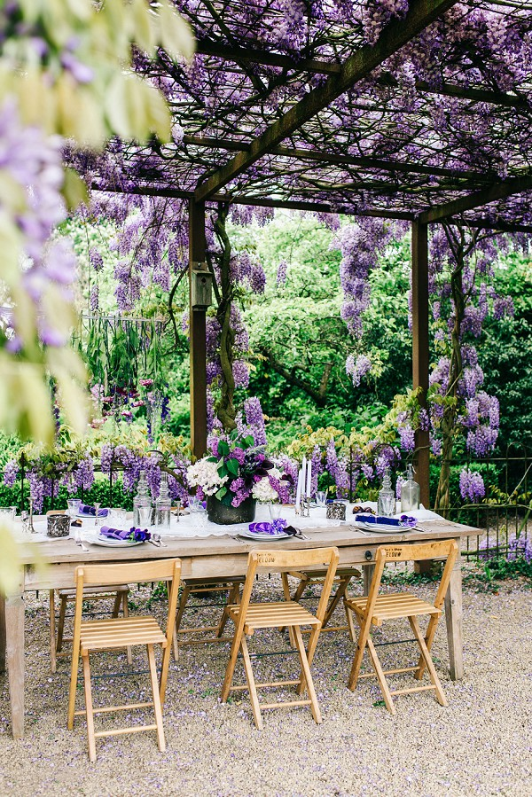 Wisteria Inspired Wedding Styled Shoot