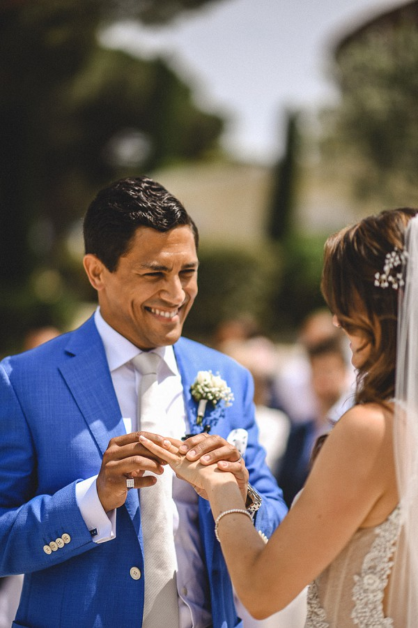 french riviera outdoor ceremony