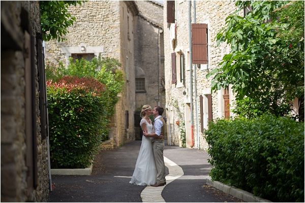 wedding pretty streets of France