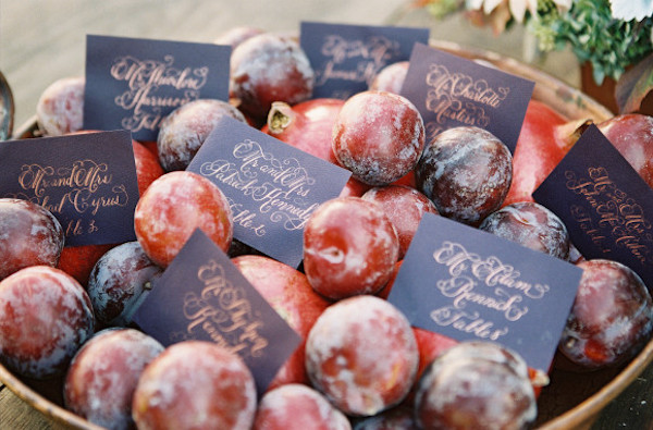 3 French Autumn Wedding Ideas Plum Colour