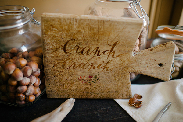 8 French Autumn Wedding Ideas Nut Bar