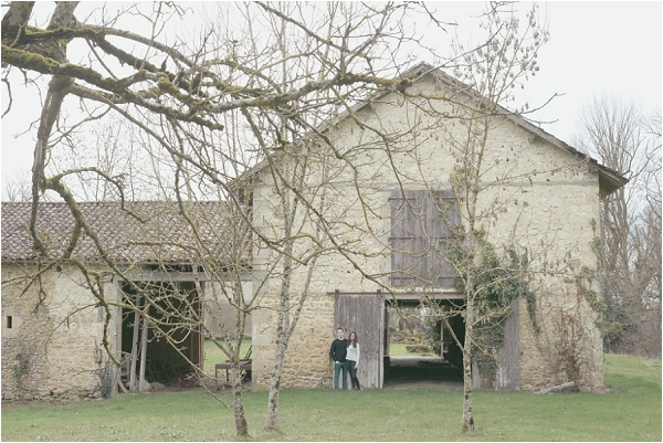 Barn wedding in France