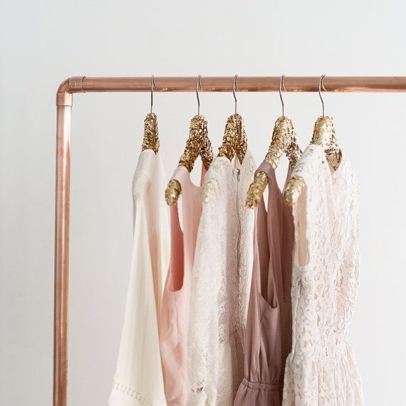 Gold Sequin Hanger
