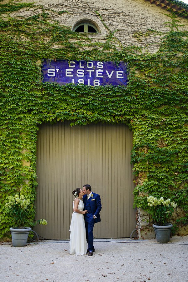 Le Clos Saint Estève wedding