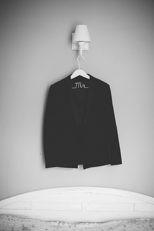 Mr wedding hanger
