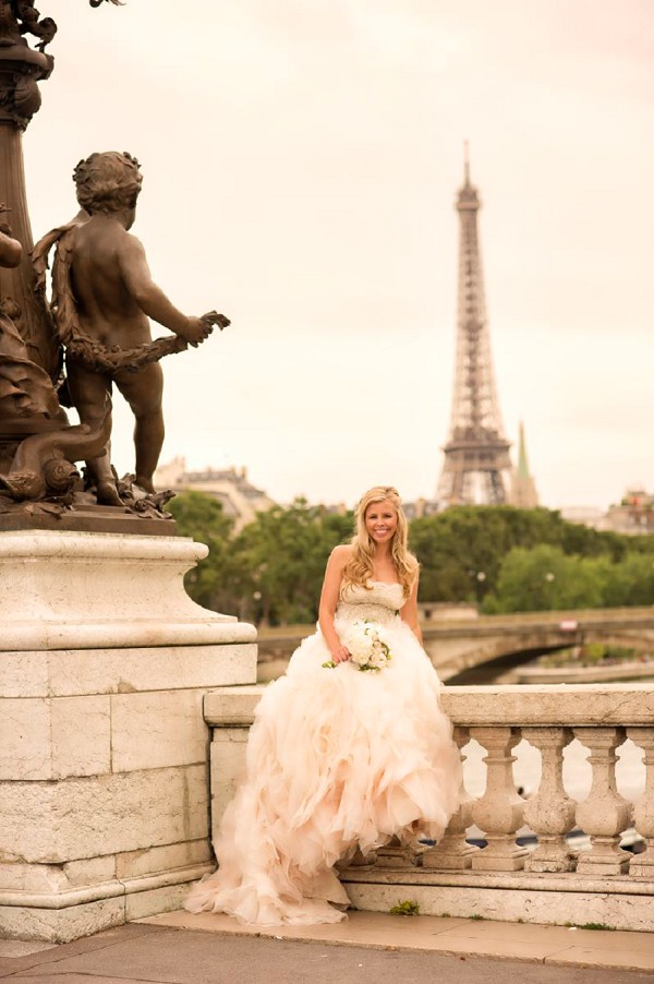 Paris wedding portraits