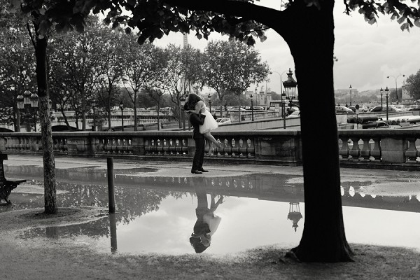 Reflection Paris photography
