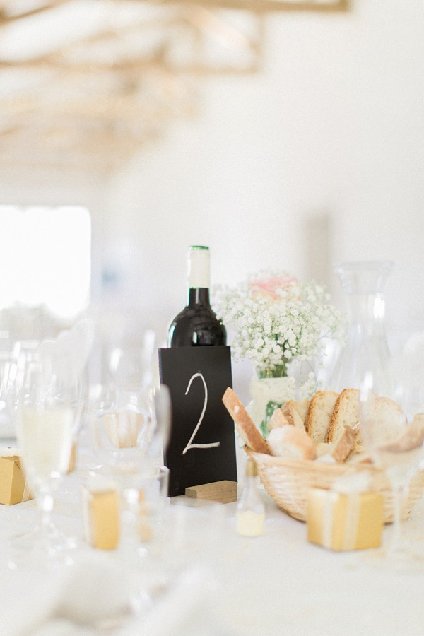 Relaxed dordogne wedding