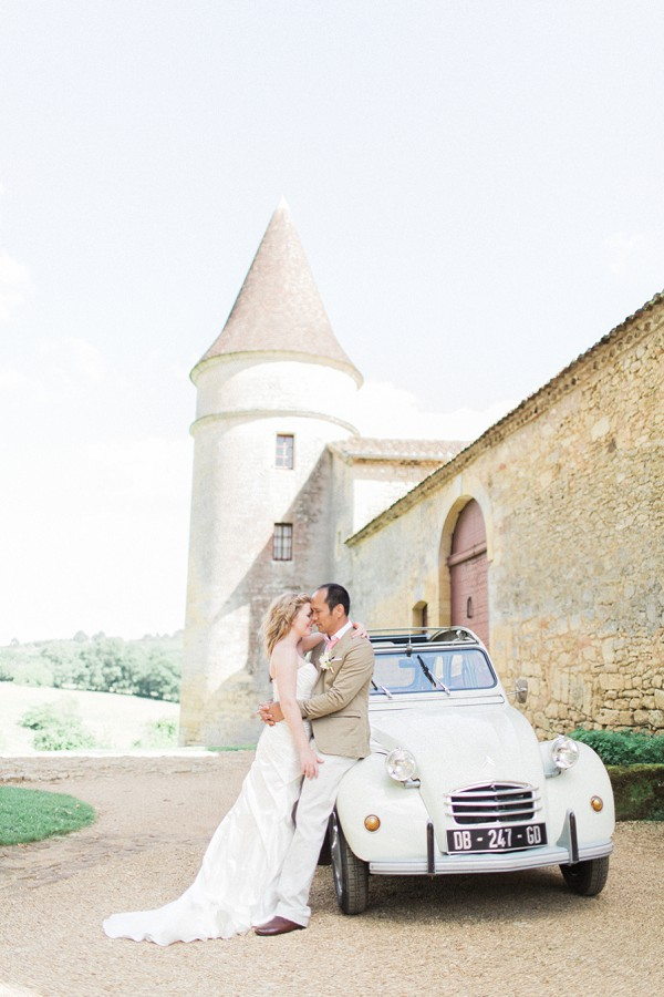 Romantic Chateau de la Bourlie Wedding