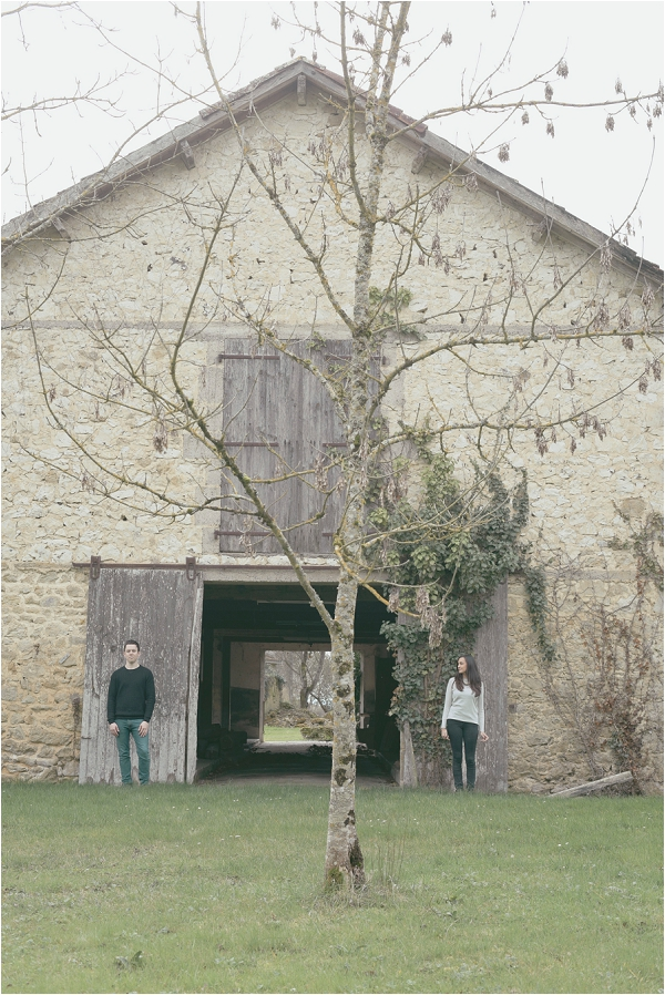 South West France barn wedding