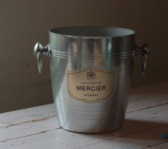 Vintage Mercier French Champagne Bucket