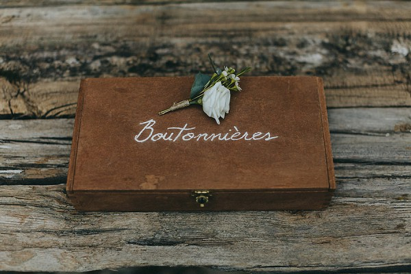 boutonniere groom wedding