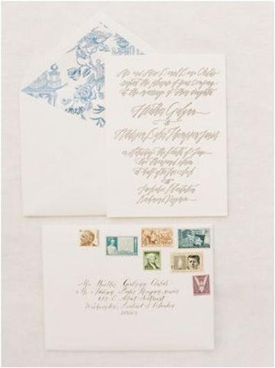 handwritten wedding letters