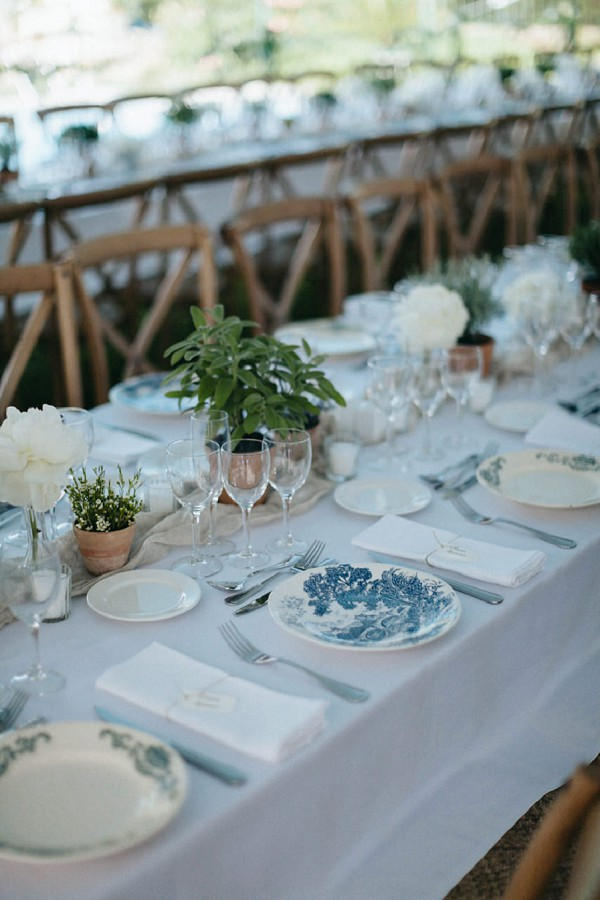 mix and match wedding crockery