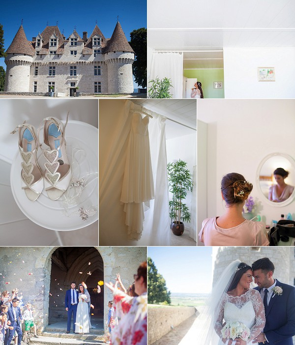 Chateau de Monbazillac Real Wedding Snapshot