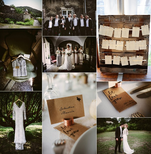 Elegant Cévennes Weekend Wedding Snapshot
