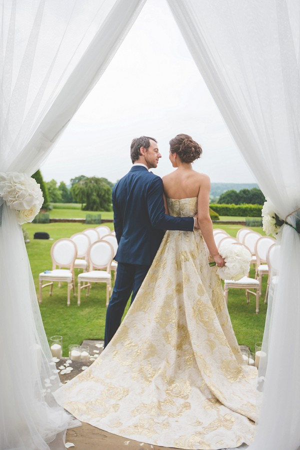 Exquisite French Inspired Wedding Gown