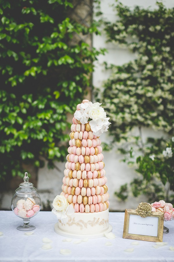 Exquisite French Wedding Cake