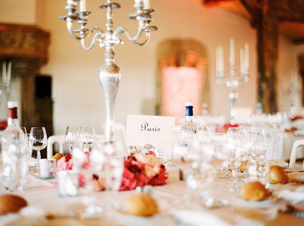 French table names wedding
