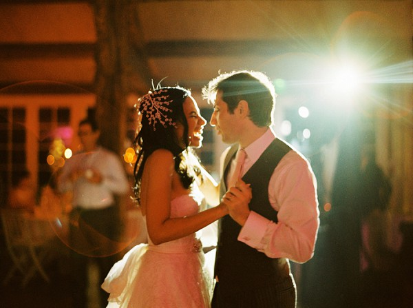 Happy first dance