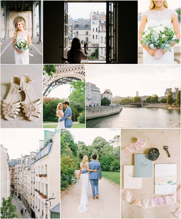 Intimate and Relaxed Elopement in Paris Snapshot | Image by Maya Maréchal Photography