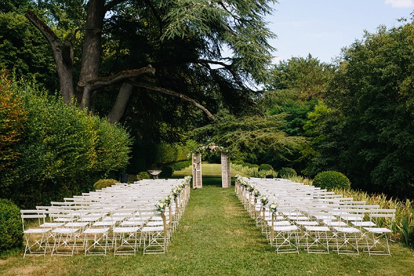 Luxury Chateau de la Bourdaisiere Wedding