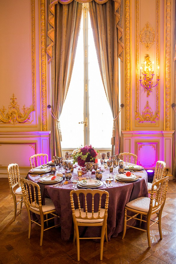 Opulent Shangri La Paris Wedding