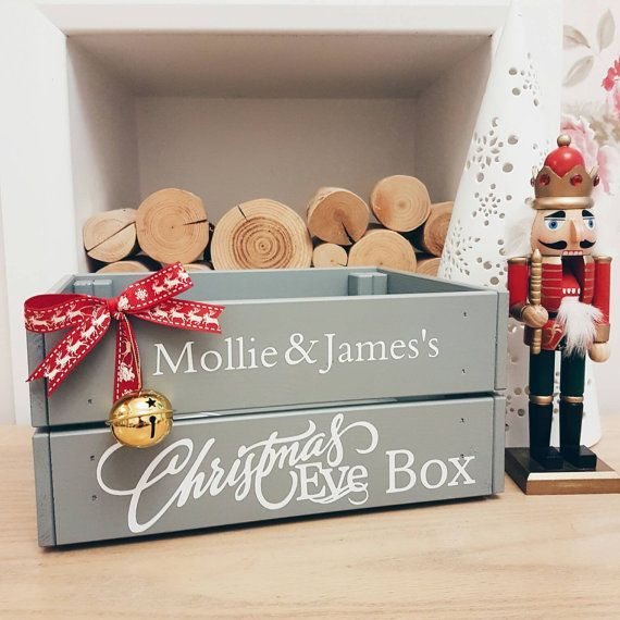Personalised Christmas Eve crate