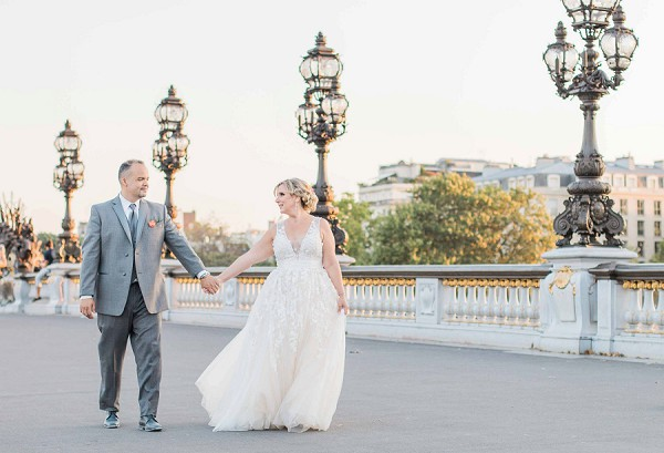 Real life Sweet Paris Elopement