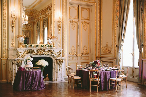 Shangri La Hotel Paris Wedding