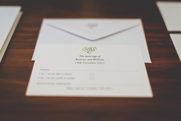 Simple luxury wedding invite suite