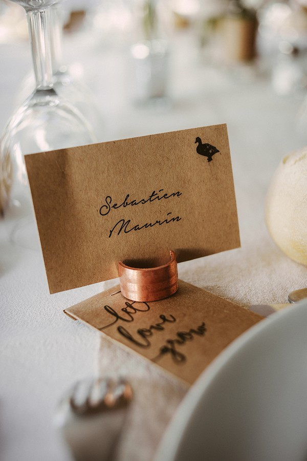 cute wedding stationary
