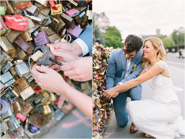 lovelocks in Paris | Image by Maya Maréchal Photography