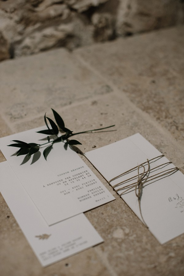 nature inspired wedding