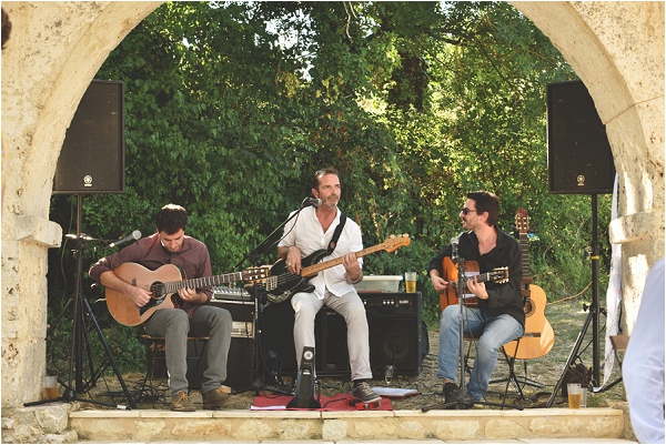 wedding band in South West France | Image by Awardweddings
