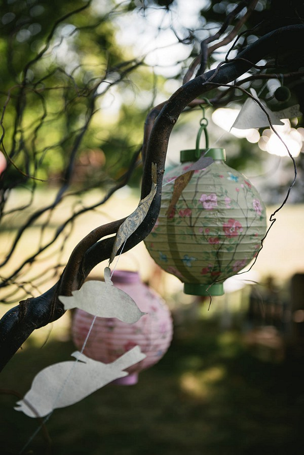 wedding day lanterns