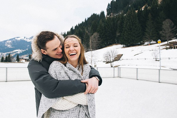 A Secret Snowy Engagement Proposal