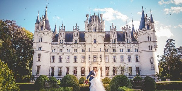 Chateau Challain Real Wedding