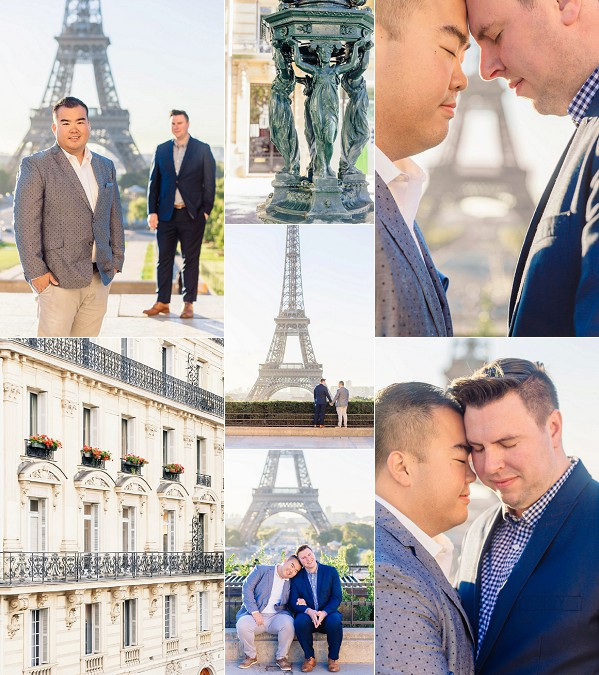 Chic Parisian Couple Shoot Snapshot