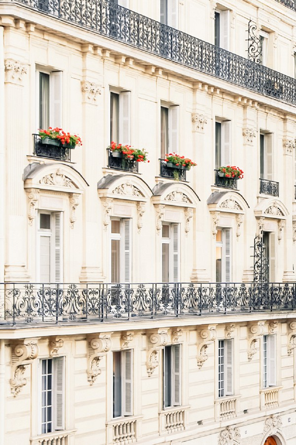 Chic Parisian building