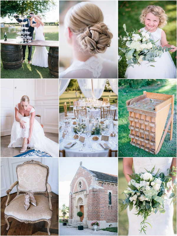 Destination Wedding at Chateau de Varennes | Images by Ian Holmes Photography