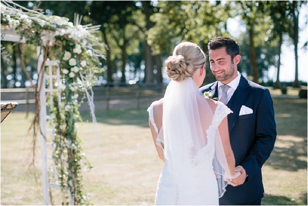 Destination wedding at Chateau de Varennes