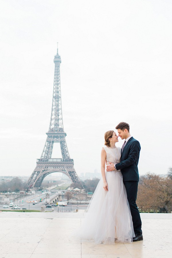 Eiffel Tower Anniversary Shoot
