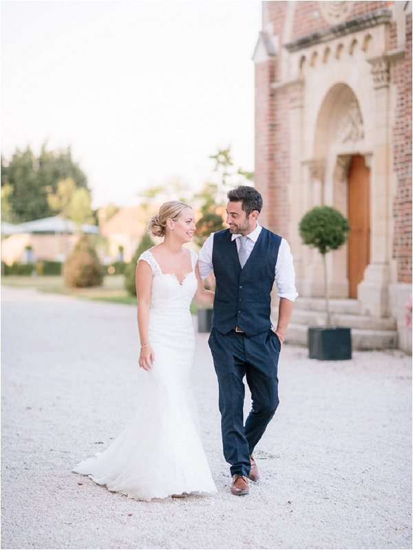 French Wedding at Chateau de Varennes | Image by Ian Holmes Photography